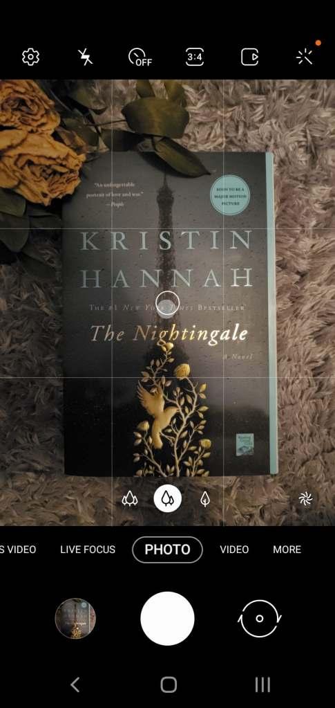 Photo of The Nightingale on phone