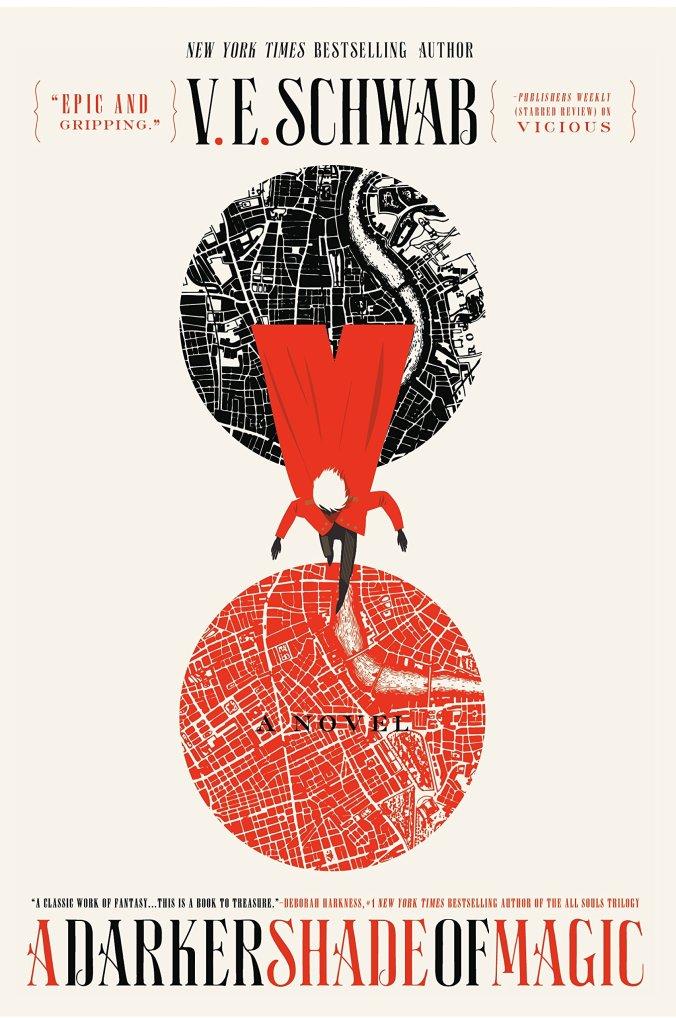 A Darker Shade of Magic V.E. Schwab Book Cover