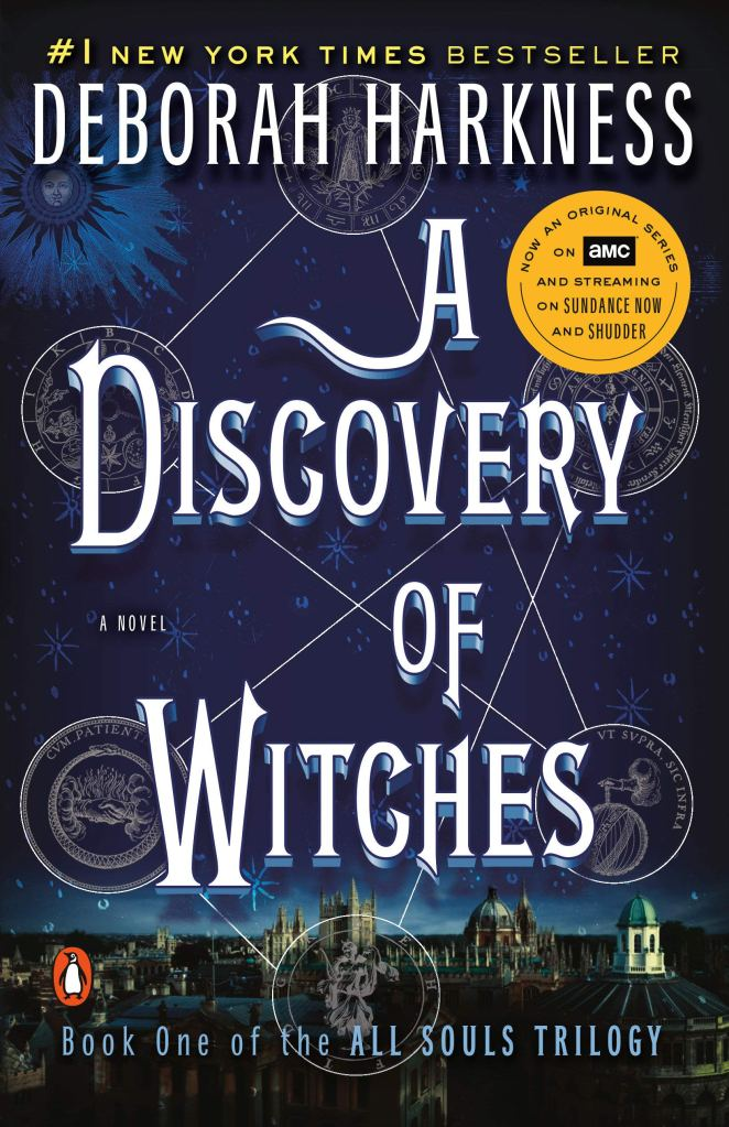 A Discovery of Witches Deborah Harkness Book Cover