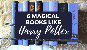 Books Like Harry Potter for Adults blog