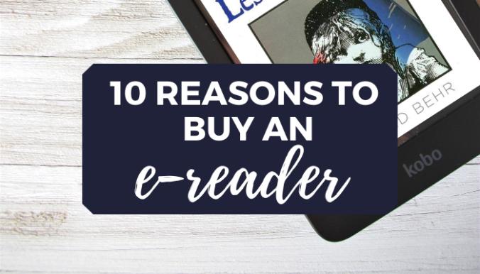 Reasons to Buy an E-Reader blog