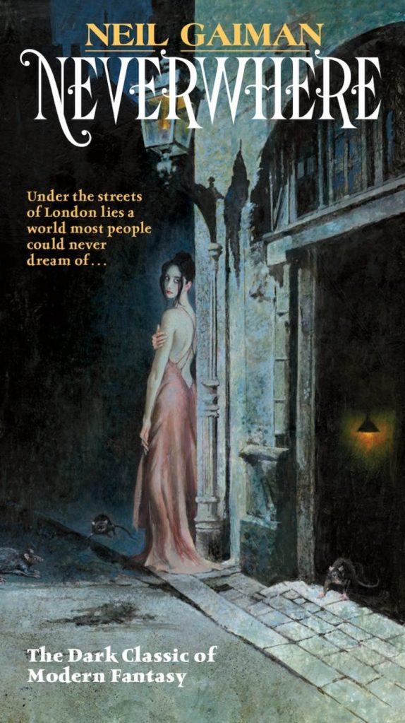 Neverwhere Neil Gaiman book cover