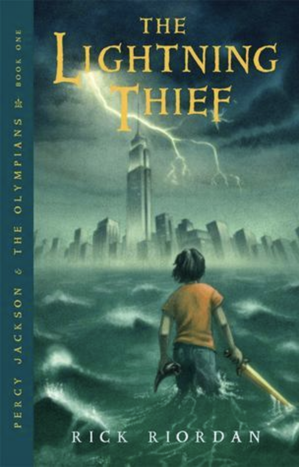 lightning thief book cover
