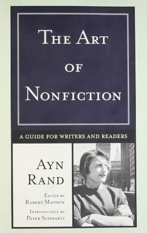 The Art of Fiction Ayn Rand Writing Inspiration Book