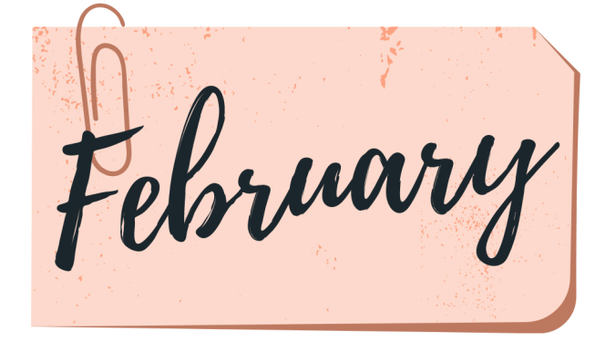 february wrap up book cover
