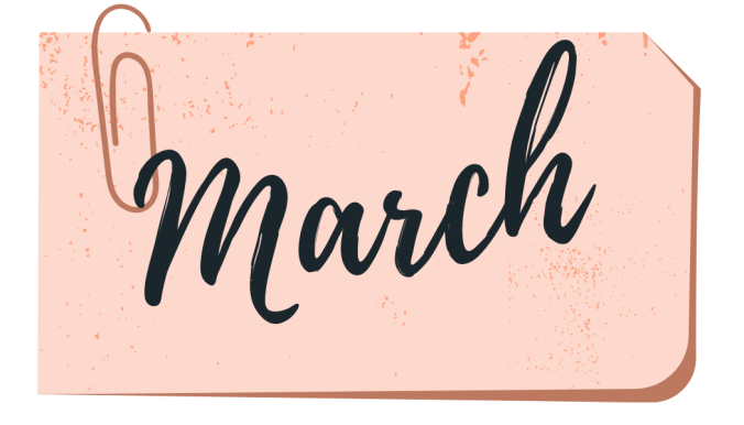 march wrap up book cover