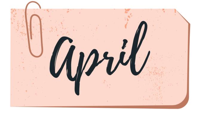 april wrap up book list