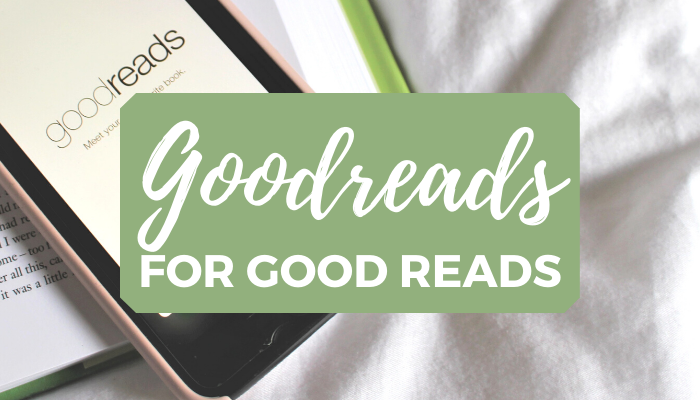 Reasons why you should have a goodreads account blog