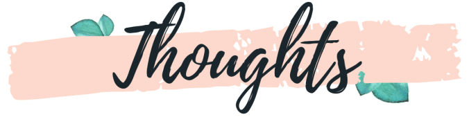 Thoughts book review