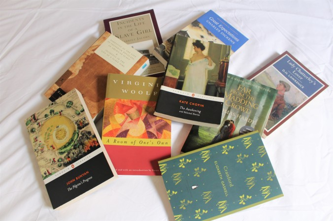 Pile of Must ReadClassic Books for English Majors
