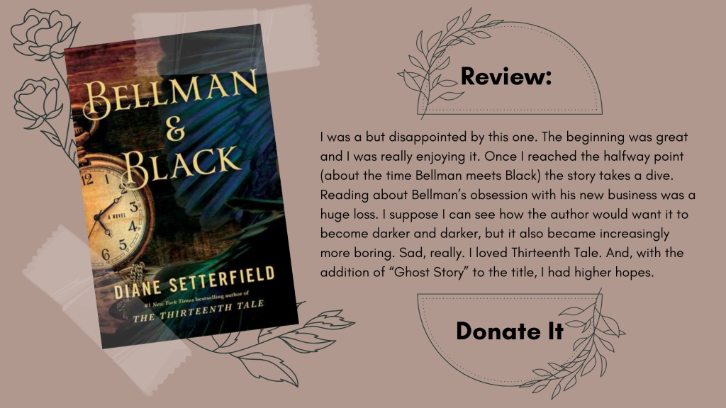 Bellman & Black Diane Setterfield Review