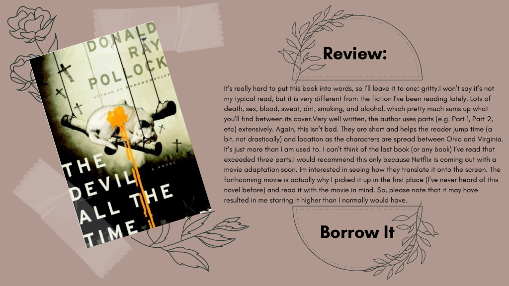 The Devil All the Time by Donald Ray Pollock Review