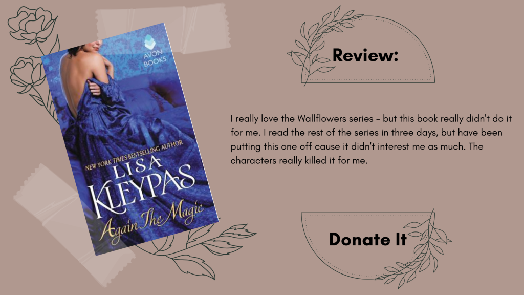 Again the Magic Lisa Kleypas Review