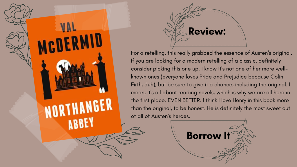 Northanger Abbey Val McDermid Review