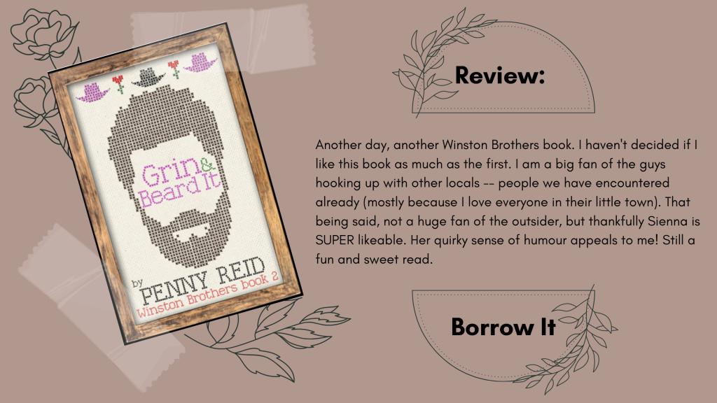 Grin & Beard It by Penny Reid Review