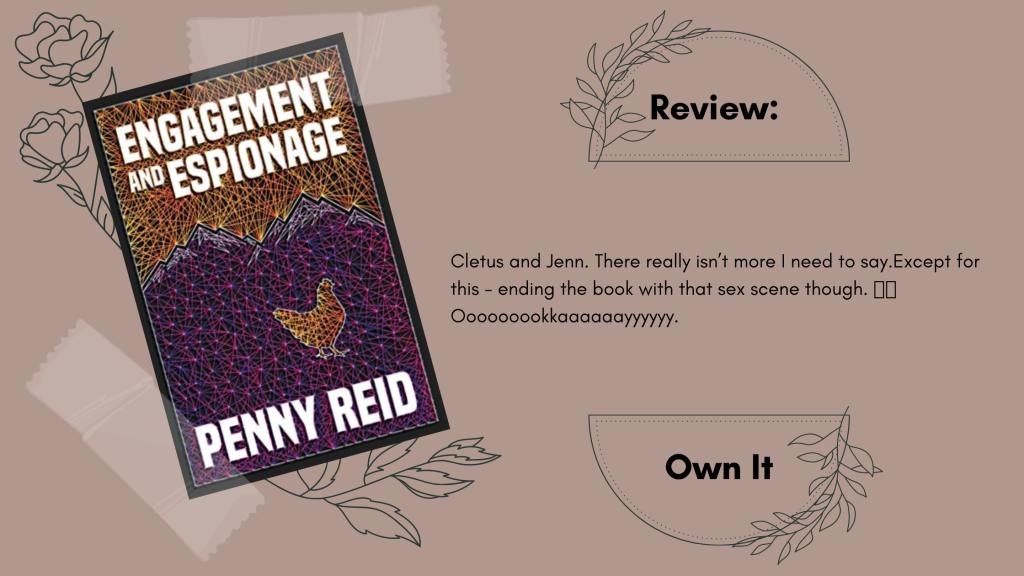 Engagement and Espionage by Penny Reid Review