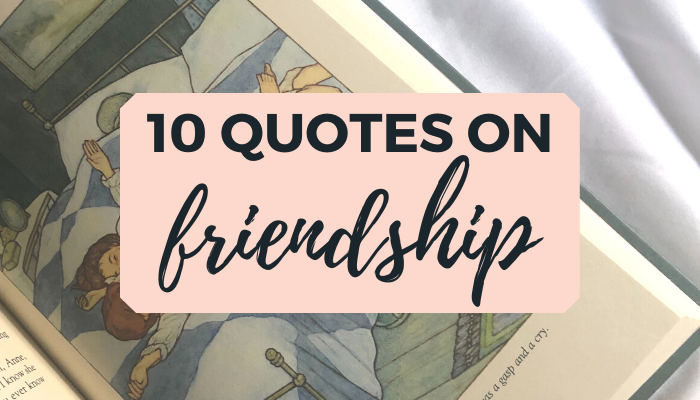 10 book quotes on friendship