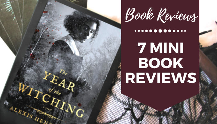 7 Mini Book Reviews 2020 books