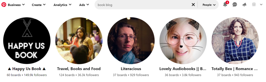 Ranking your Profile on Pinterest