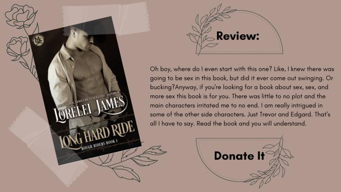 Lorelei James Long Hard Ride