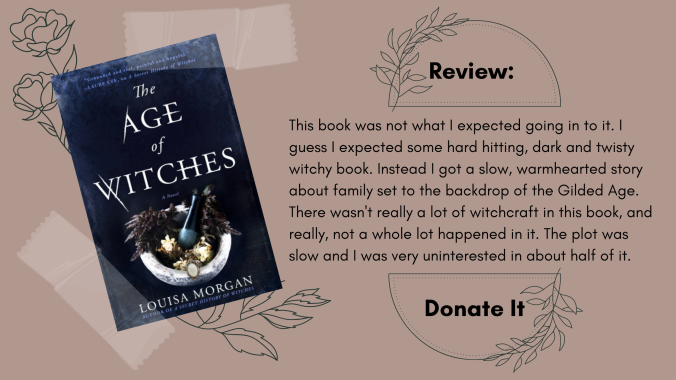 The Age of Witches Louisa Morgan