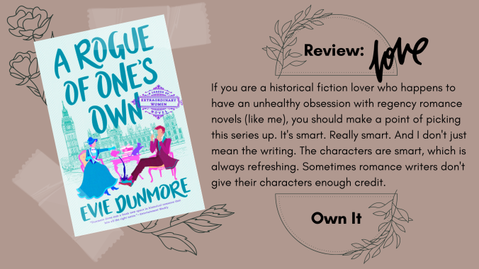A Rogue of One's Own Evie Dunmore