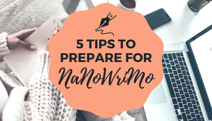 5 Steps to Prepare Your Writing Project for NaNoWriMo