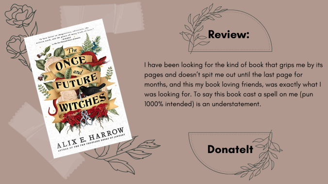 The Once and Future Witches Book Review by Alix E. harrow