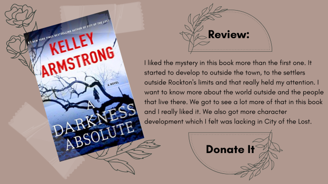 A Darkness Absolute Kelley Armstrong Book Review