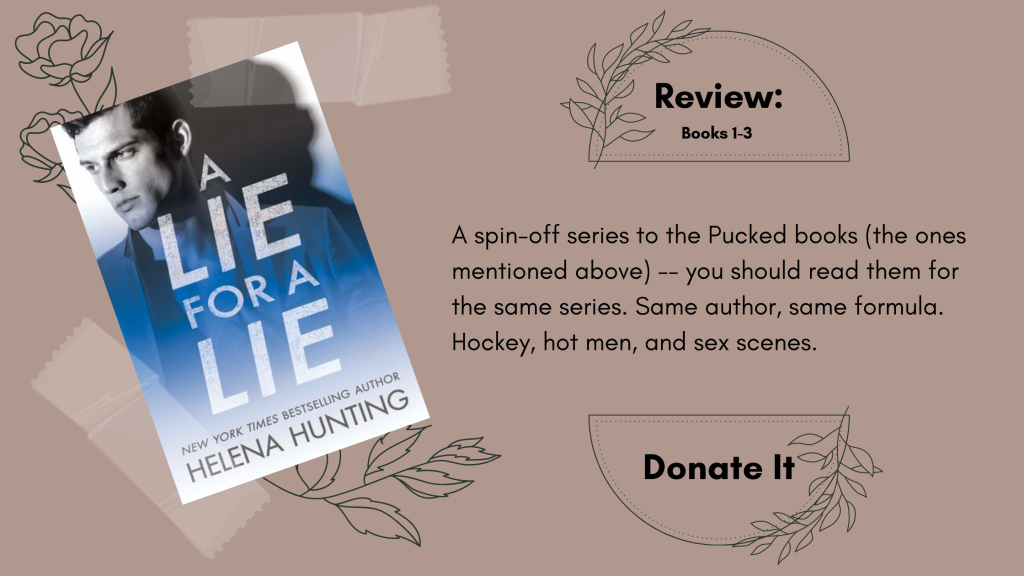 A Lie for a Lie by Helena Hunting Book Review