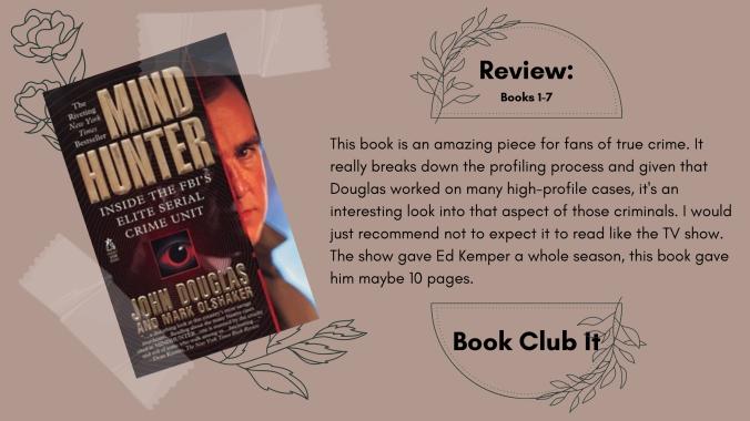 Mindhunter John Douglas Book Review