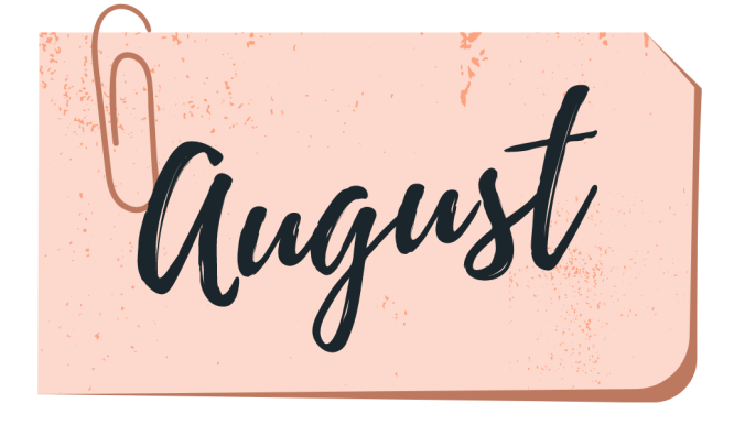 august book wrap up