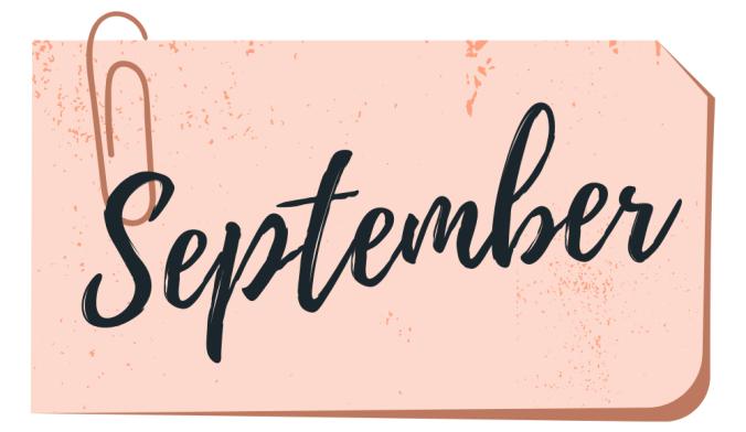 september book wrap up