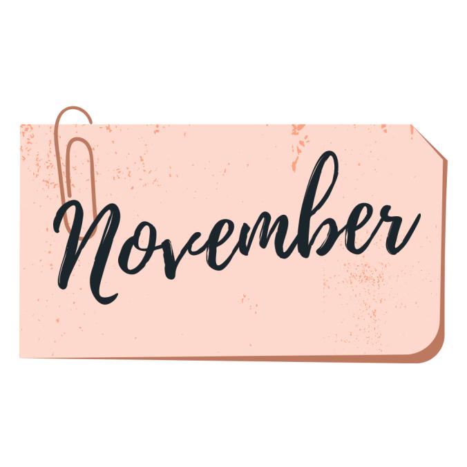 november book wrap up