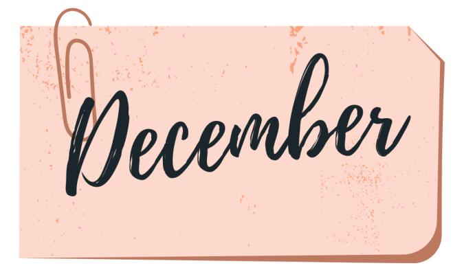 december book wrap up