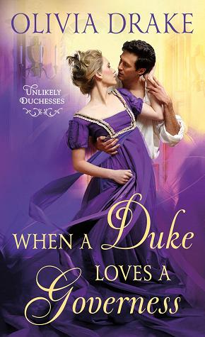 when a duke loves  governess olivia drake