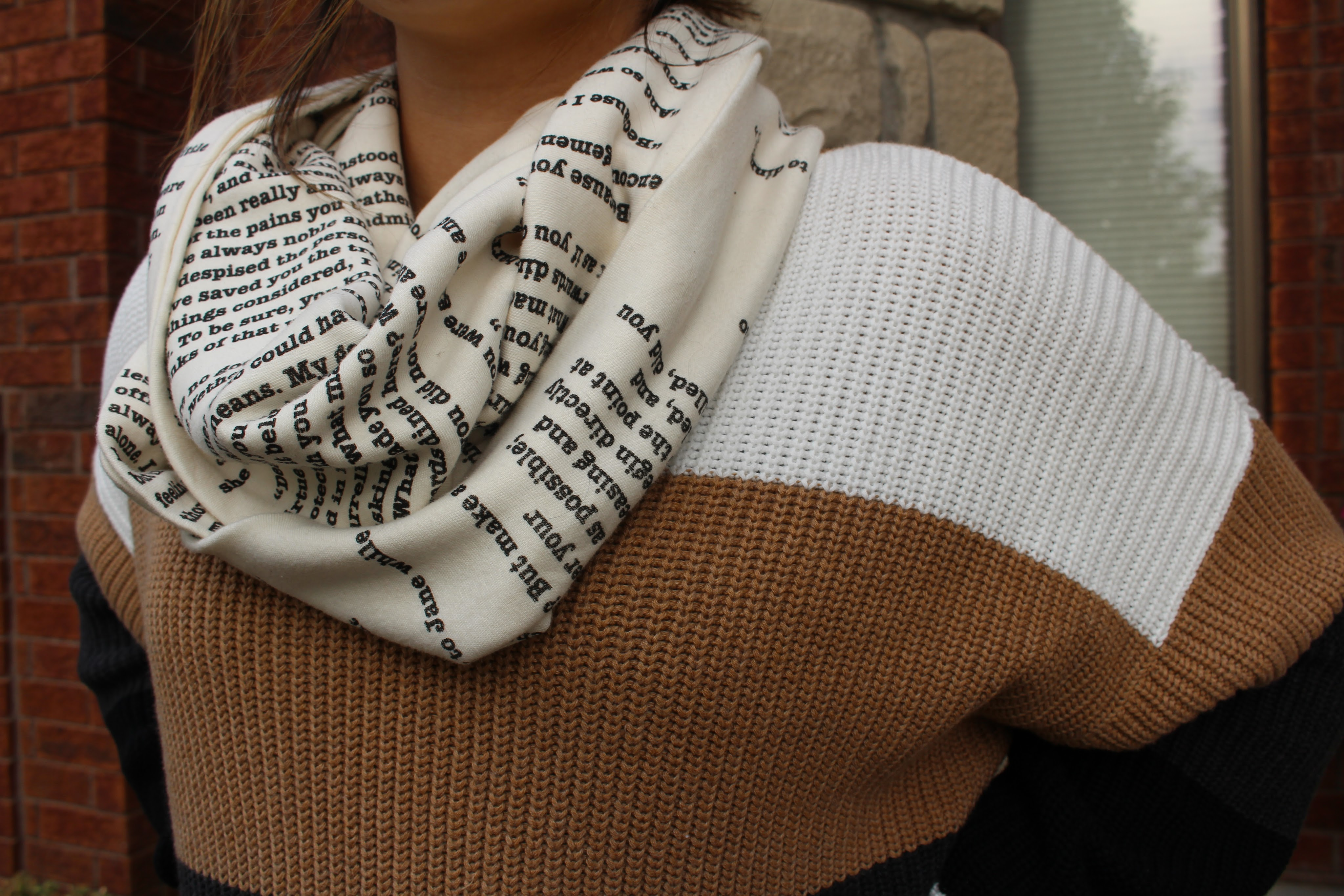 Book scarfBook scarf