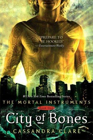 city of bones cassandra clare fantasy tropes
